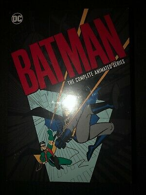 DC Batman The Complete Animated Series DVD Set New