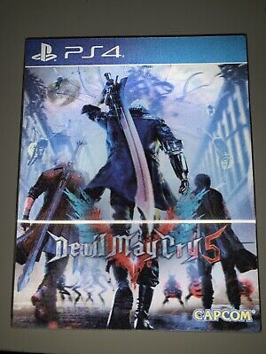 DEVIL MAY CRY 5 - SPECIAL LENTICULAR EDITION PS4 usato