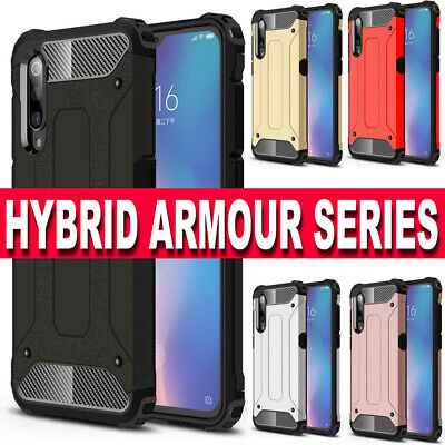 Case for Samsung Galaxy A50 A40 Luxury Slim Shockproof Hybrid HEAVY Armor Cover