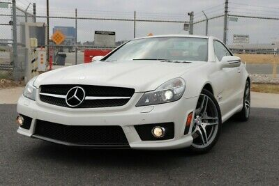 2009 Mercedes-Benz SL-Class 2dr Roadster 6.2L AMG Mercedes-Benz SL-Class White with 51,643 Miles, for sale!