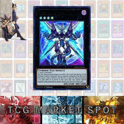 YUGIOH - Firewall eXceed Dragon - DANE-EN036 - Ultra Rare - 1st Edition NM/MINT