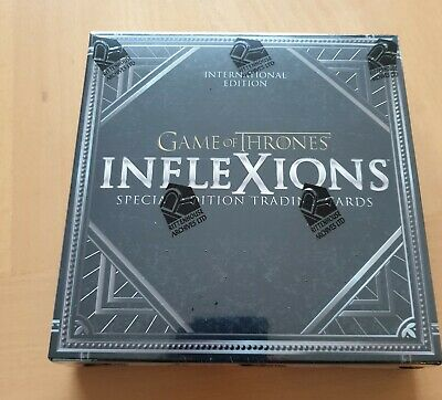 Game of Thrones InfleXions Trading Card Box INTERNATIONAL