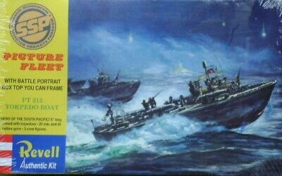 PT 212 TORPEDO Boat Box Only Revell Authentic Kit 1953 - $9 89