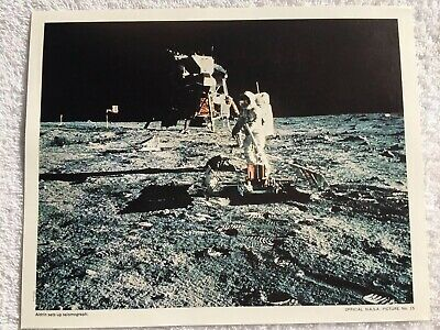 6 Official Nasa Photos Of Apollo 11's Moon Landing 1969