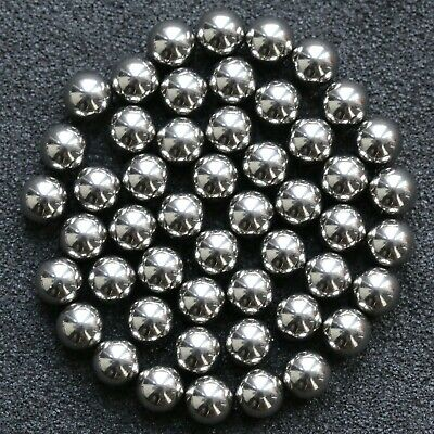 x50 Stainless Steel Ball Bearings 5mm (approx. - see description) UK stock