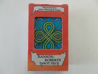 New Old Stock!! Hanson Roberts Tarot Deck NINE OF RODS Card Deck, 80 Cards FS!!