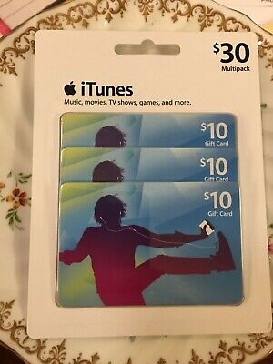 Apple ITunes gift cards $ 30.00