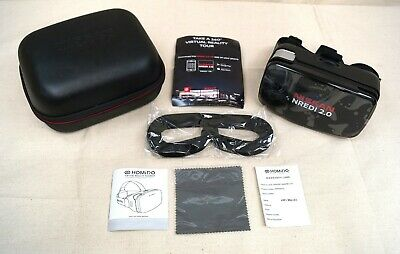 Nissan Nredi 2.0 Homido Virtual Reality Headset With Case New