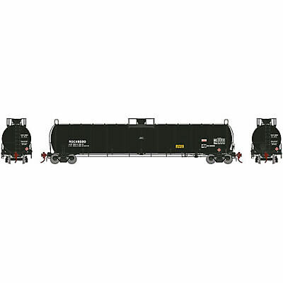 Athearn HO 33 900-Gallon LPG Tank Early ROCX #8020 ATHG25491