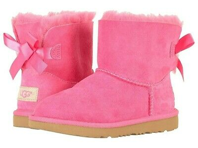 a86ef3cfe24 UGG AUSTRALIA MINI BAILEY BOW II Boot Kid brand new never wear. - Girls  size 5