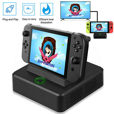 Type-C HDMI TV Converter Charging Dock Stand for Nintendo Switch Game Console