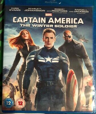 Captain America- The Winter Soldier 2014 (Blu-ray) ONE DISC