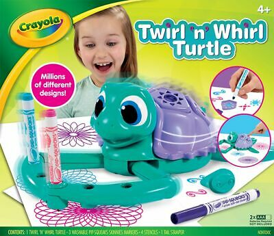 New Crayola Twirl n Whirl Turtle By OZSALE