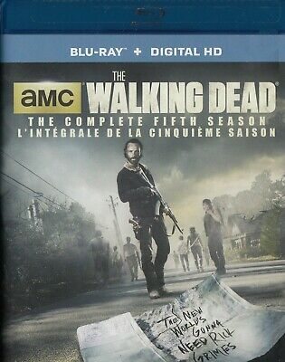 The Walking Dead Complete 5Th Season (Bluray)(5 Disc Set)