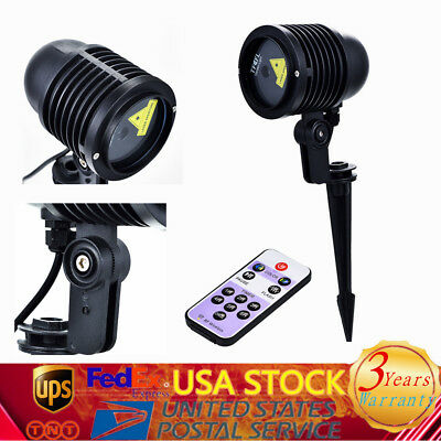 NEW Christmas Laser Lights Projector Outdoor RGB Landscape Garden Xmas Party