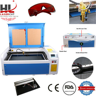 RECI 100W Co2 Laser Engraving and Cutting Machine With CW-5000 Chiller USB Port