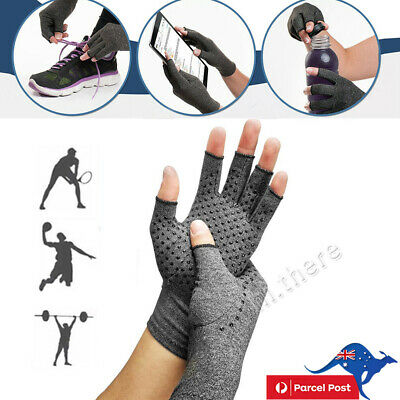 Strong Compression Gloves Hand Support Gloves Arthritis Antislip Pain Relief NEW