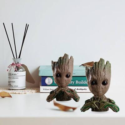 Guardians of The Galaxy Baby Groot planter Pen Flowerpot / Tree Man Baby Action