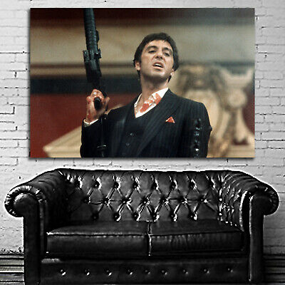 #30 Scarface Poster Movie Gangster Mafia Hollywood 40x60 inch More Sizes Large
