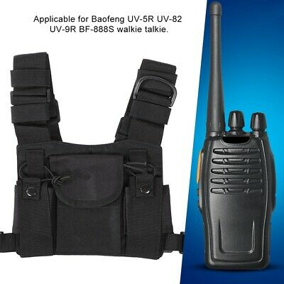 Chest Front Holster Harness Carry bag for Baofeng UV-5R UV-82 UV-9R BF-888S TYT