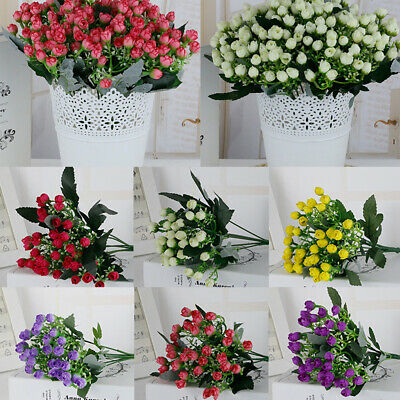 1PC Artificial Daisy Rose Flower Bouquet Home Table Wedding Onements Supply