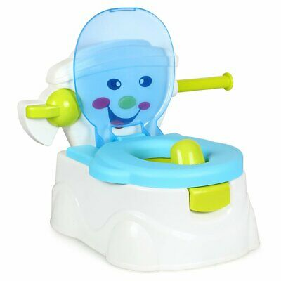 2 in1 Baby Toilet Trainer Child Toddler Kid Potty Urinal Training Seat Chair Boy