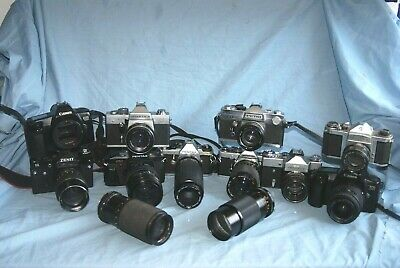 #M6 Joblot Of Cameras And Lenses