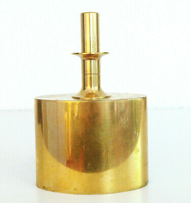Skultuna Messing Karaffe Pierre Forsell Design 24 Karat vergoldet Sweden Brass