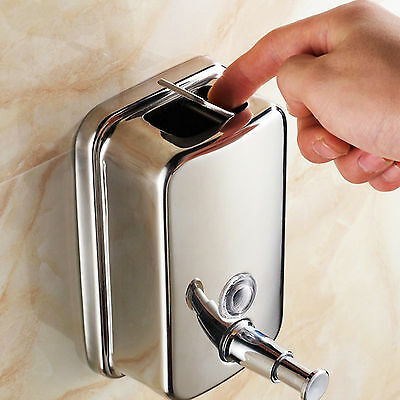 Soap/shampoo Dispenser Wall Mounted Stainles Steel Durable Shower/Bathroom