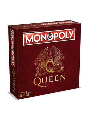 Brand New - Queen Edition Monopoly Board Game - Tracked P&P