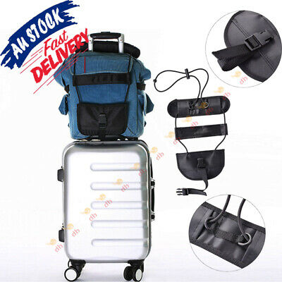 Bag Strap Luggage Bungee Travel Suitcase Adjustable Tape Belt Tie Carry On AU