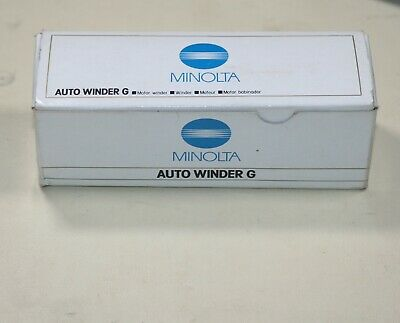 Minolta Auto Winder G for X and XG 35mm Film SLR Cameras