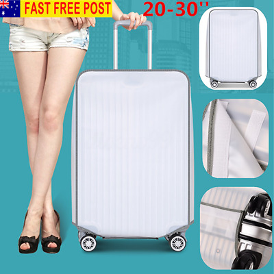 20''-30'' Dustproof Transparent Travel Luggage Cover Elastic Protector Suitcase