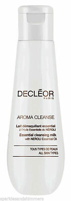 Decleor Aroma Cleanse Face Wash Cleansing Milk with Neroli Oil 50ml Brand New