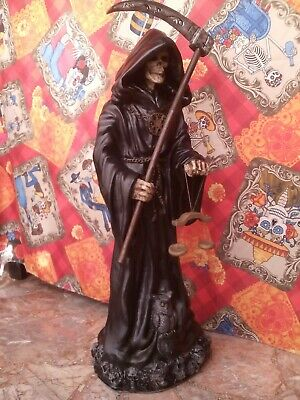 Santa Muerte 60 cm - Big Statue of Death - Skull Dark Skeleton - Statua s. Morte