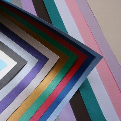 Pearlescent Paper A4 - Centura Pearl Shimmer Craft Paper Single & Double Sided
