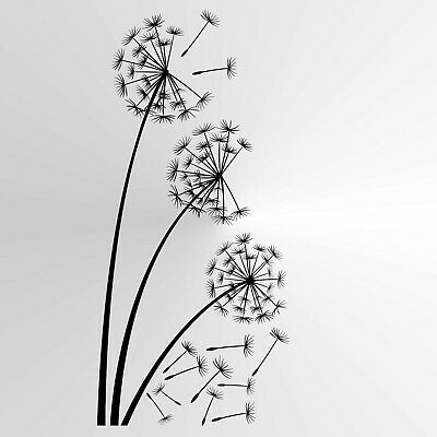 Dandelions Reusable Stencil A3 A4 A5 Romantic Shabby Chic Craft Flora / F20