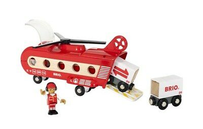 Brio Wooden Railway Trains Cargo Transport Helicopter 8 Pieces Age 3+ 33886 New