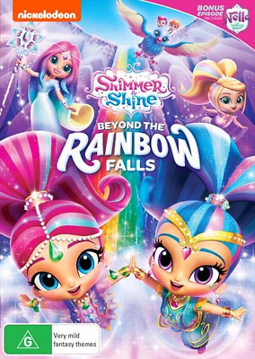 Shimmer And Shine - Beyond The Rainbow Falls (DVD, 2018) NEW