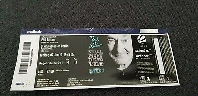 Phil Collins Ticket Berlin