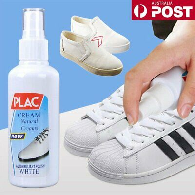 100ml Magic White Shoes Cleaner Refreshed Cleaning Polish Tool For Shoes DM