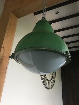 Reclaimed, Salvaged,Vintage Industrial French Street Light