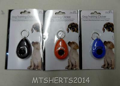 Pet Dog Training Obedience Clicker in Red, Blue or Black - NEW - RC1
