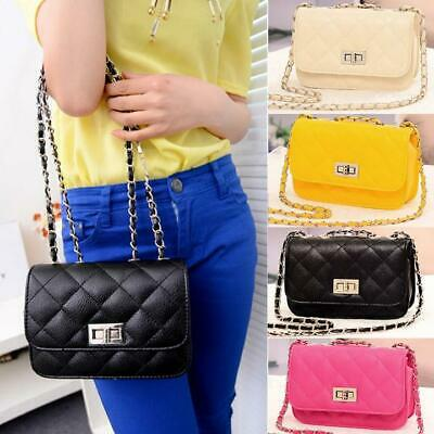 Fashion Women's Leather Cute Mini Cross Body Chain Shoulder Bag Handbag WT88 03
