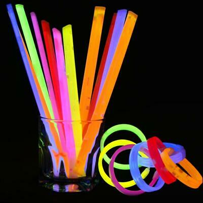 Concert Party Bar Safe Non-toxic With Connectors Bright Glow Sticks WT88