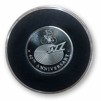 Jazz - 40th Anniversary Sixpence Coin - Queen Freddie Mercury Brian May