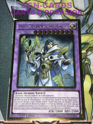 VOYAGEUR DES ABYSSES ARDENTS PGL3-FR077 Occasion Carte Yu Gi Oh DANTE