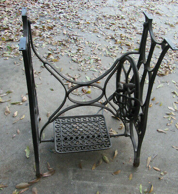 NEW IDEAL Treadle Base, Antique, Industrial Legs, Art Deco, Sewing Table Base