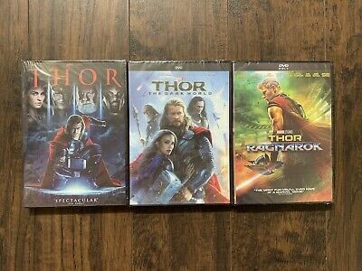 Thor Trilogy Marvel DVD Brand New Free Shipping