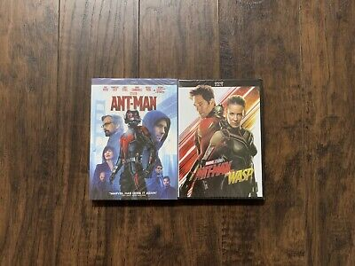 Ant-Man Ant-Man and The Wasp Marvel Studios DVD Brand New Free Shipping